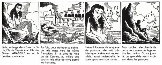 Arabelle, by Jean Ache (France-Soir, 1950)