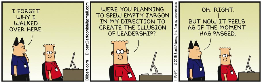 Dilbert by Scott Adams (2015)