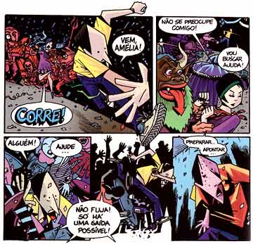 comic art by Jose Aguiar (2000)