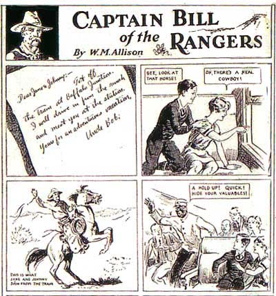 Captain Bill of the Rangers, by Bill Allison