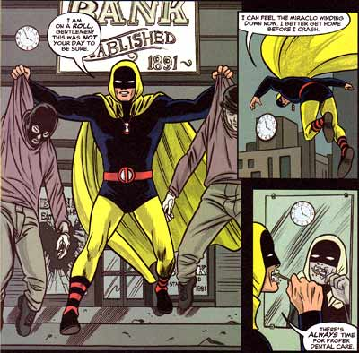 An Hour with Hourman, by Mike Allred