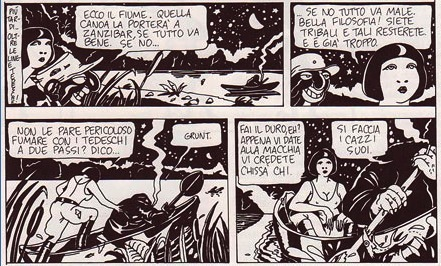 Ada, by Altan (Alter Alter, February 1979)