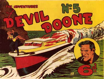 Devil Doone, by Hart Amos