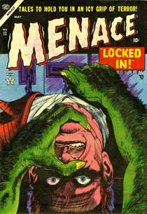 Menace cover by Harry Anderson