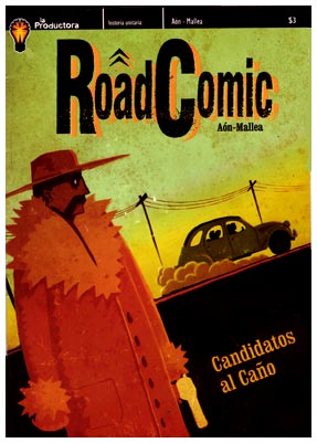 Road Comic, by Carlos Aon
