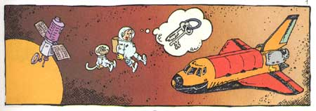 Buzz & Bell, by Sergio Aragones