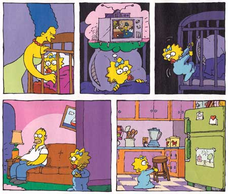 Maggie's Crib by Sergio Aragones (2010)