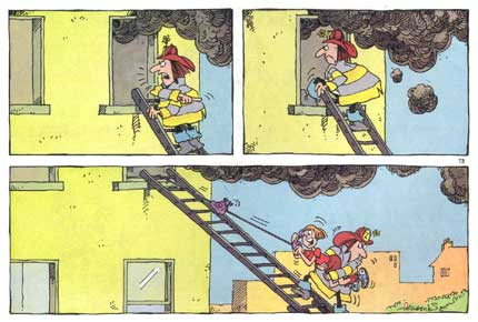 The Smokehouse Five, by Sergio Aragones