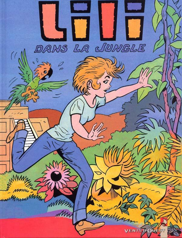 Cover of Espiègle Lili 54, by Jacques Arbeau