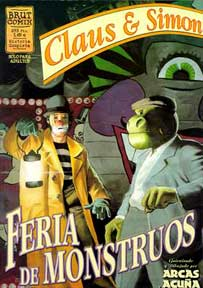 Claus & Simon: Feria de Monstruos, by Arcas & Acuna