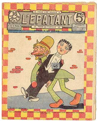 Cover for L'Épatant, by Marcel Arnac