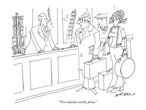 Cartoon from The New Yorker by Ed. Arno