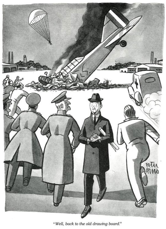 Cartoon by Peter Arno