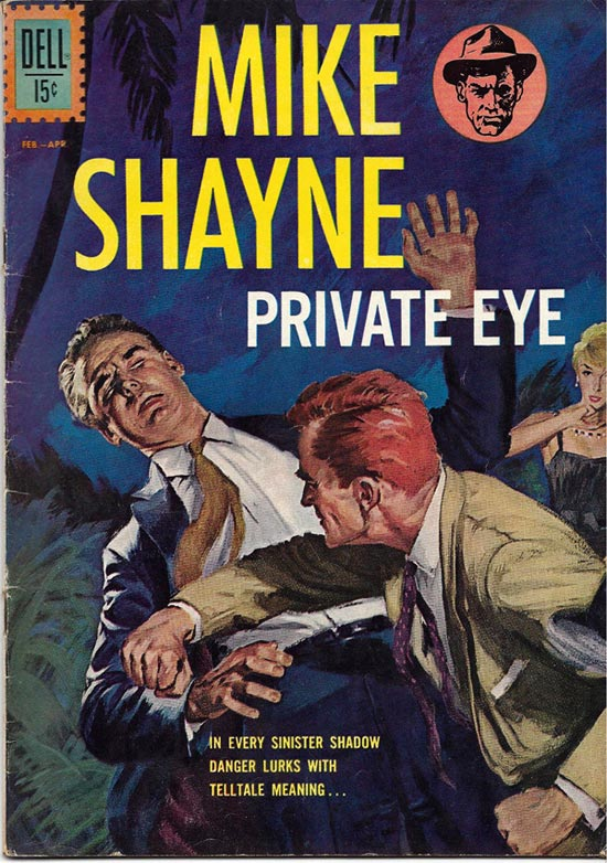 cover for Mike Shayne, by Edd Ashe