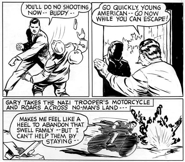 From Pocket Comics by Edd Ashe (1941)