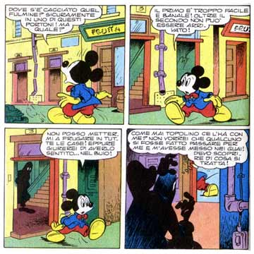 Mickey Mouse, by Sergio Asteriti