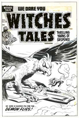 Witches Tales, by Al Avison