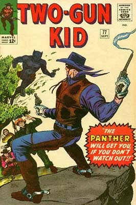 Two-Gun Kid, cover by Dick Ayers