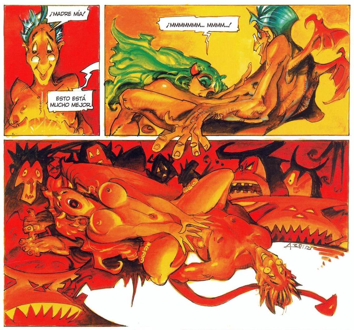 Azpiri | Alfonso Comiclopedia Lambiek