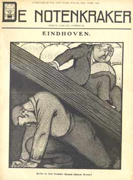 De Notenkraker, cover from 1909