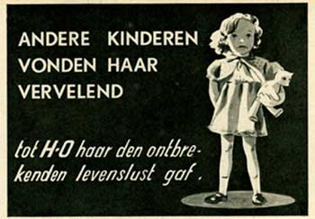 H-O advertentie