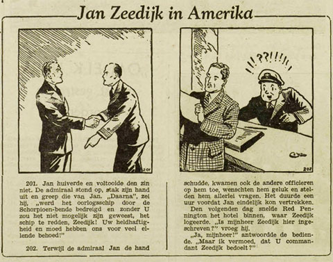 Jan Zeedijk in Amerika