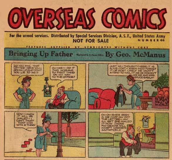 Bringing Up Father uit Overseas Comics