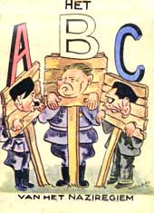 The ABC of the Nazi Regime, drawn by Herman Vos