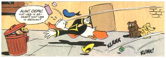 Donald Duck door Windig & De Jong