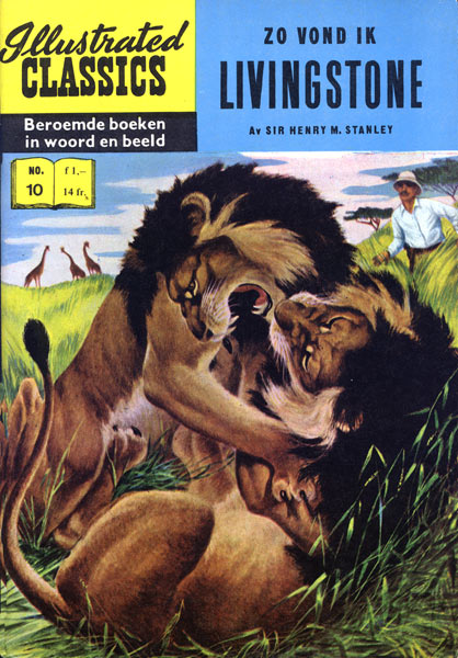 Illustrated Classics: Zo vond ik Livingstone