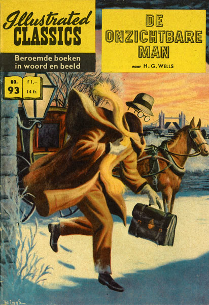 Illustrated Classics: De Onzichtbare Man