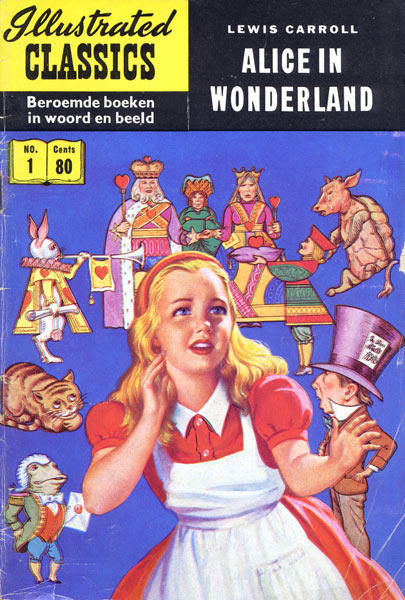 Illustrated Classics: Alice in Wonderland