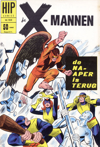 Hip-comics: De X-mannen