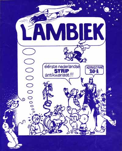 Lambiek sticker
