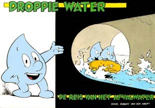 Droppie Water door Robert van der Kroft