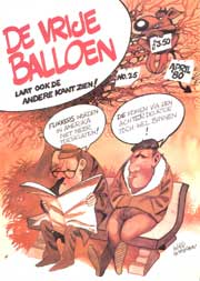 De Vrije Balloen #25,cover Willy Lohmann