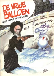 De Vrije Balloen #21, cover Willy Lohmann