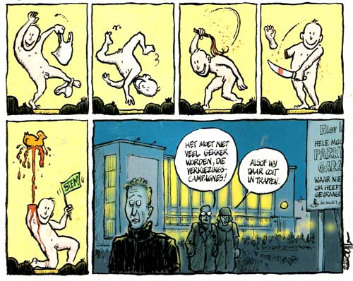 Strip by Albo Helm from De Inktpot 12 (March 2007)