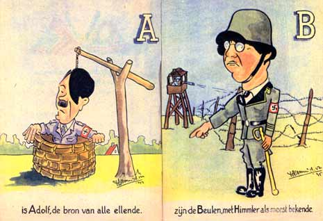 A is for Adolf, geteekend door Herman A. Vos
