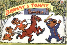 Brommy en Tommy in: Tombola!, door Jan-Dirk van Exter