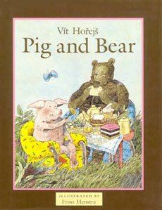 Pig and Bear, door Friso Henstra