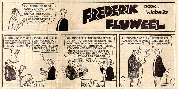 Frederik Fluweel door Webster