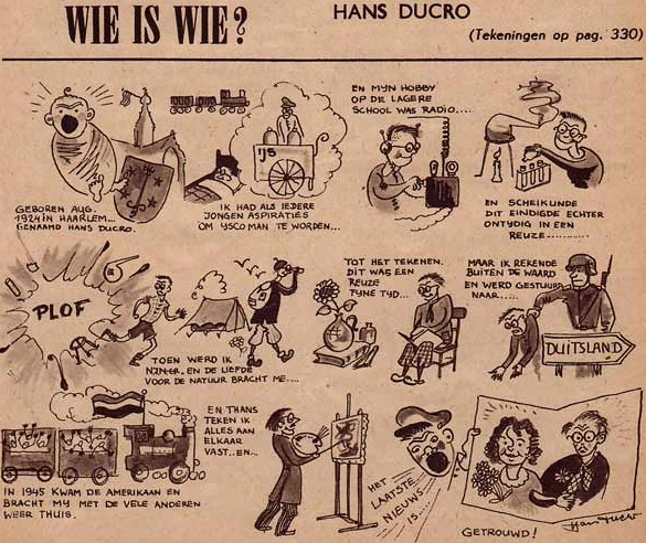 Wie is Wie? Hans Ducro (1949)