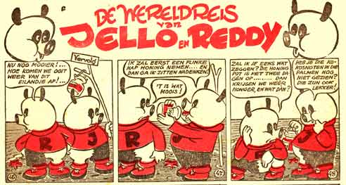 Jello en Reddy