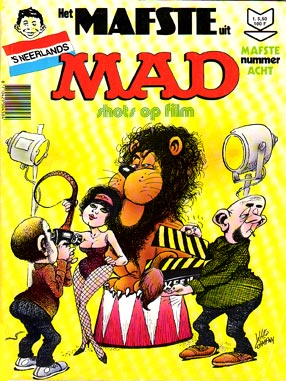 MAD cover van Willy Lohmann