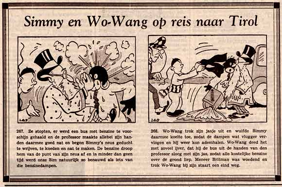 Simmy en Wo-Wang, door Frans Pi�t