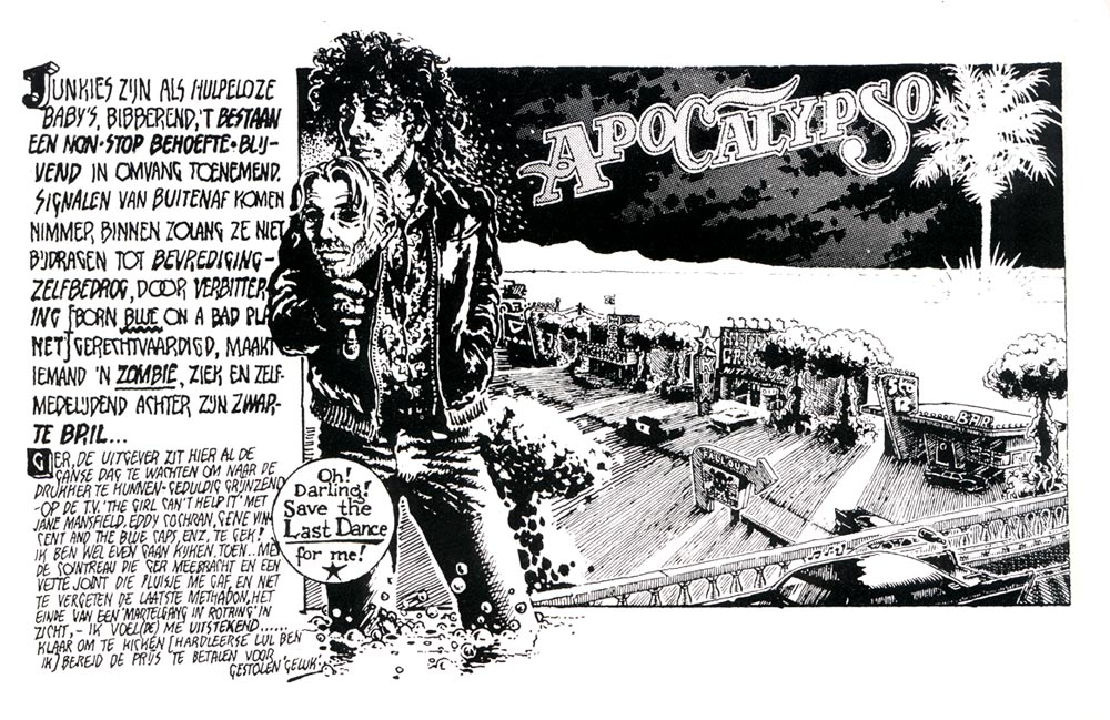 Apocalypso, in The Amsterdam Connection