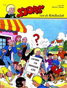 De eerste Sjors in full-color, 1959