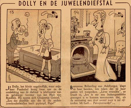 Dolly en de Juwelendiefstal