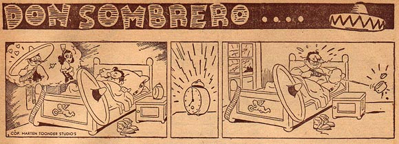Don Sombrero, door Marten Toonder